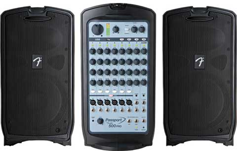 SISTEMA AUDIO PORTATIL FENDER PASSPORT P-500 PRO 2x250W
